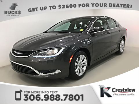 Used Chrysler 200 Limited V6 | 90th Anniversary | Sunroof