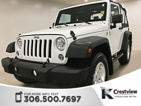 Certified Used Jeep Wrangler Sport 4x4 | Air Conditioning