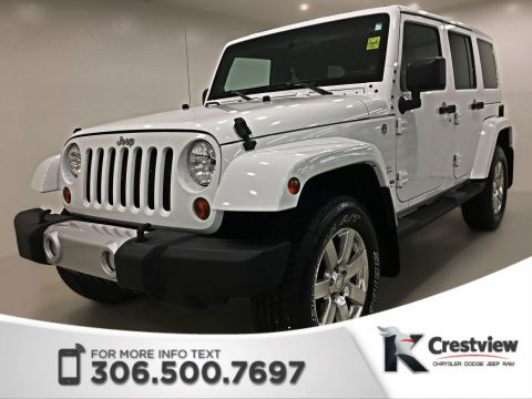 Certified Pre-Owned 2012 Jeep Wrangler Unlimited Sahara | Heated Seats | Remote Start