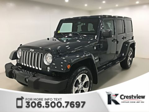 Used Jeep Wrangler Unlimited Sahara | New Condition | Navigation | Remote Start