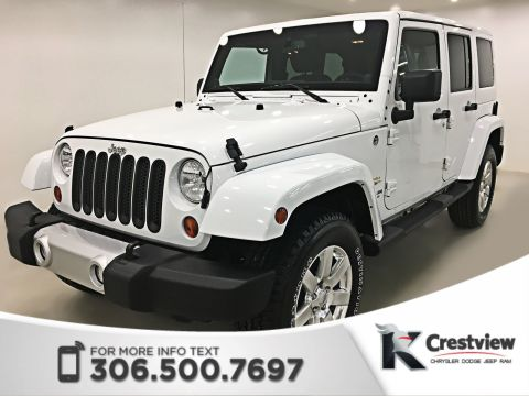 Used Jeep Wrangler Unlimited Sahara | Navigation | Remote Start