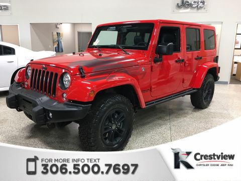 Used Jeep Wrangler Unlimited Winter | New Condition | Navigation