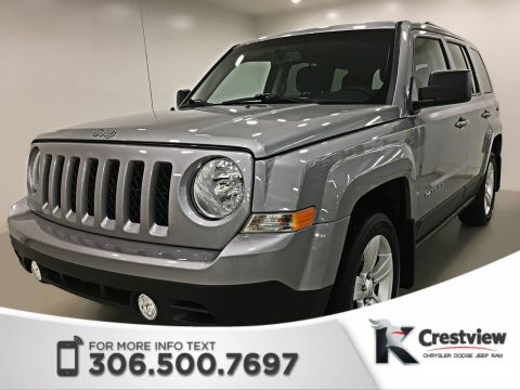 Certified Pre-Owned 2015 Jeep Patriot North 4x4 | Heated Seats | Sunroof
