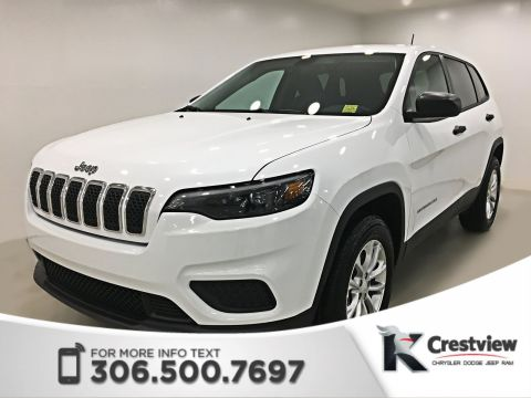 New Jeep Cherokee Sport 4x4 V6 | Heated Seats and Steering Wheel | Remote Start