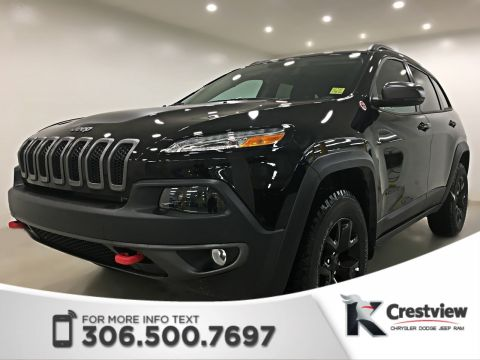 New 2018 Jeep Cherokee Trailhawk Leather Plus 4x4 | Sunroof | Navigation