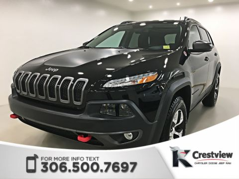 New Jeep Cherokee Trailhawk Leather Plus 4x4 | Sunroof | Navigation