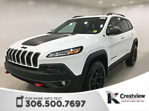2018 Jeep Cherokee Trailhawk Leather Plus 4x4 | Sunroof | Navigation