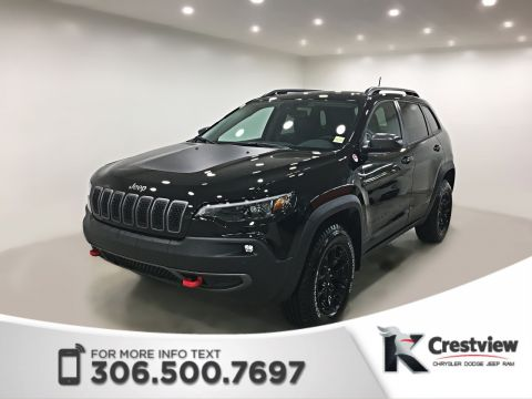 New 2019 Jeep Cherokee Trailhawk Elite 4x4 Turbo | Sunroof | Navigation