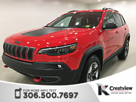2019 Jeep Cherokee Trailhawk 4x4 V6 | Leather | Remote Start