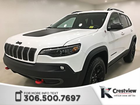 2019 Jeep Cherokee Trailhawk Elite 4x4 V6 | Sunroof | Navigation