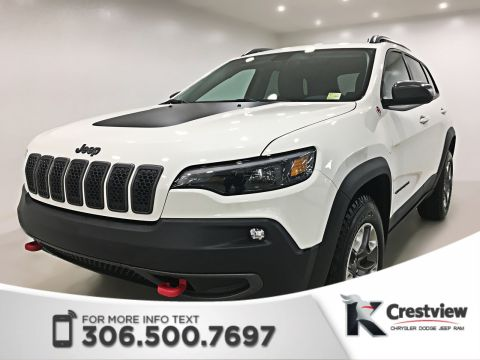 New Jeep Cherokee Trailhawk 4x4 V6 | Heated Seats and Steering Wheel | Remote Start