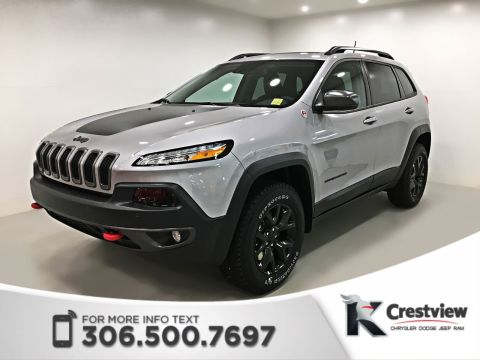 New Jeep Cherokee Trailhawk Leather Plus 4x4 V6 | Sunroof | Navigation