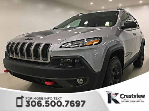 New 2018 Jeep Cherokee Trailhawk Leather Plus 4x4 V6 | Sunroof | Navigation