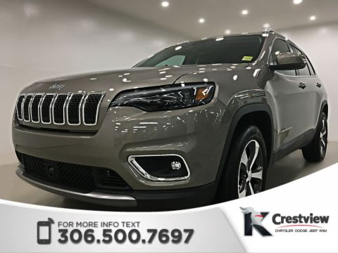 2019 Jeep Cherokee Limited 4x4 V6 | Sunroof | Navigation