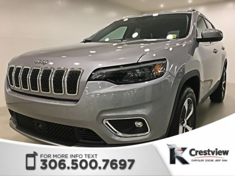 New Jeep Cherokee Limited 4x4 V6 | Sunroof | Navigation