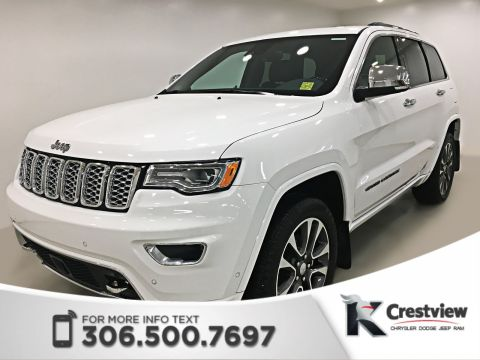 New Jeep Grand Cherokee Overland 3.6L | Ventilated Seats | Sunroof | Navigation
