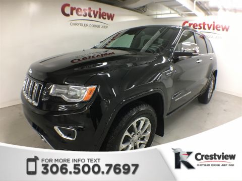 Used Jeep Grand Cherokee Overland | Sunroof | Navigation | DVD