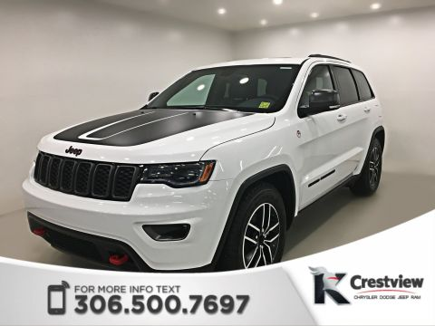 New Jeep Grand Cherokee Trailhawk V6 | Sunroof | Navigation