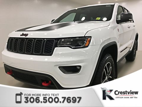 New Jeep Grand Cherokee Trailhawk | Sunroof | Navigation | Remote Start