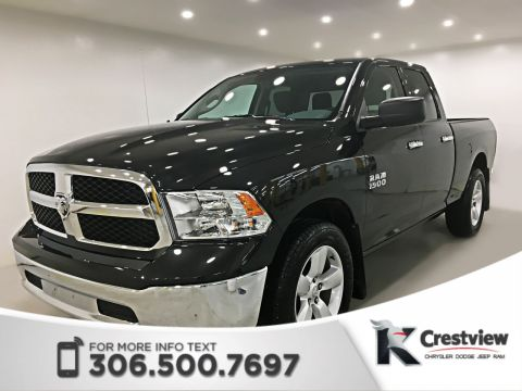 Used Ram 1500 SLT Quad Cab V6 | 8.4 Touchscreen | Back-up Camera