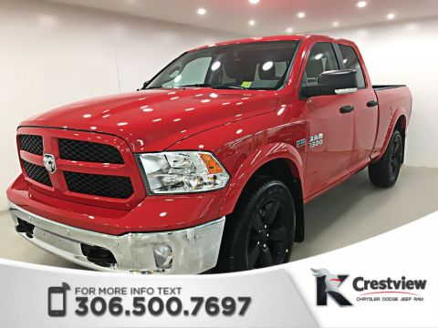 Used Ram 1500 Outdoorsman Quad Cab | Heated Seats and Steering Wheel | Remote Start