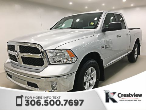 Certified Pre-Owned 2017 Ram 1500 SLT Quad Cab | 8.4 Touchscreen