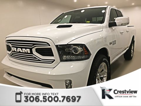 New Ram 1500 Sport Quad Cab | Heated Seats and Steering Wheel