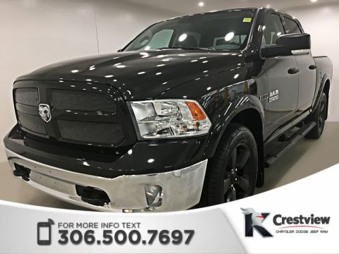 Certified Pre-Owned 2015 Ram 1500 Outdoorsman EcoDiesel Crew Cab | Heated Seats and Steering Wheel | Sunroof
