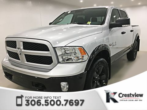 New Ram 1500 Outdoorsman Crew Cab | Heated Seats and Steering Wheel | Remote Start