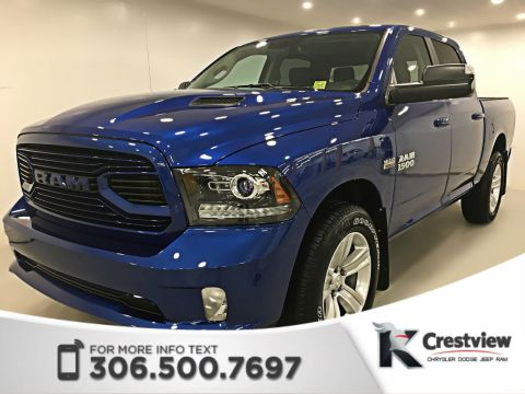 New 2018 Ram 1500 Sport Crew Cab | Leather | Sunroof | Navigation | Remote Start