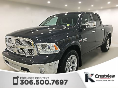 Used Ram 1500 Laramie Crew Cab | Sunroof | Navigation