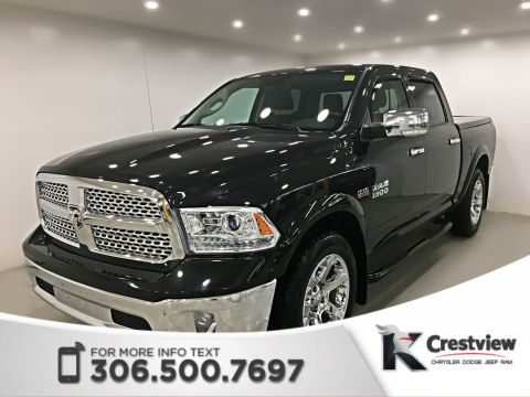 Used Ram 1500 Laramie Crew Cab | Sunroof | Navigation | Remote Start