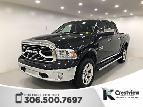 Used Ram 1500 Limited Crew Cab | Sunroof | Navigation | RamBox