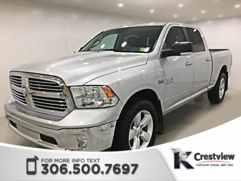 New Ram 1500 SLT Crew Cab | 8.4 Touchscreen