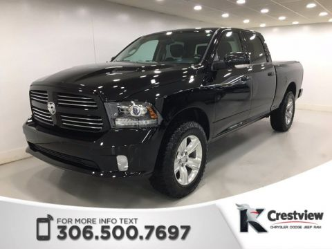 Used Ram 1500 Sport Crew Cab | Leather | Sunroof | Navigation