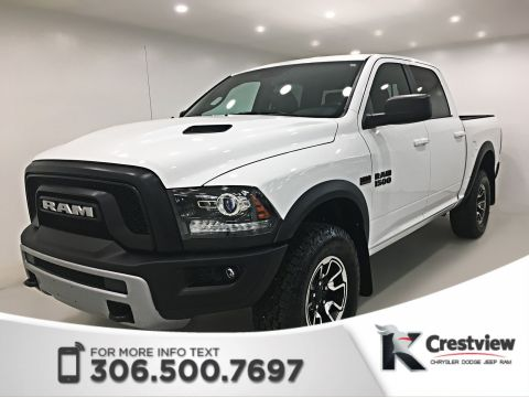 Used Ram 1500 Rebel Crew Cab | Heated Seats and Steering Wheel