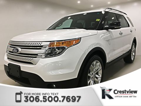 Certified Used Ford Explorer XLT 4x4 V6 | Leather