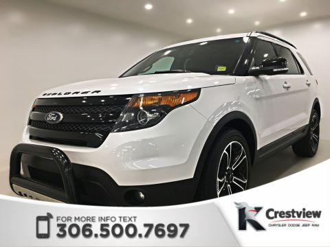Certified Pre-Owned 2015 Ford Explorer Sport | Leather | Sunroof | Remote Start