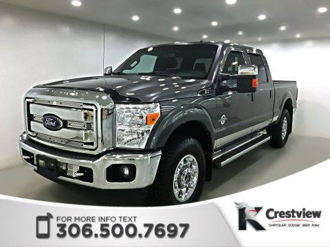 Used Ford Super Duty F-350 SRW Lariat Crew Cab | Leather Heated and Cooled Seats | Navigation | Remote Start