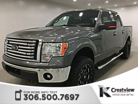 Pre-Owned 2012 Ford F-150 XLT SuperCrew | XTR Package | Katzkin Leather