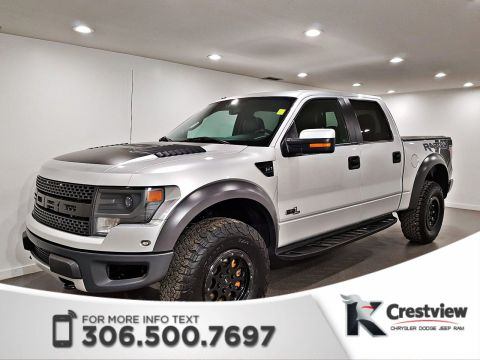 Used Ford F-150 SVT Raptor SuperCrew | Leather | Sunroof