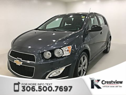 Used Chevrolet Sonic RS Package Hatchback | Leather | Sunroof