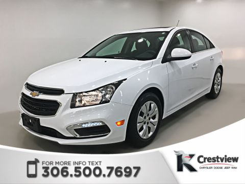 Certified Pre-Owned 2016 Chevrolet Cruze Limited LT | Sunroof | Remote Start
