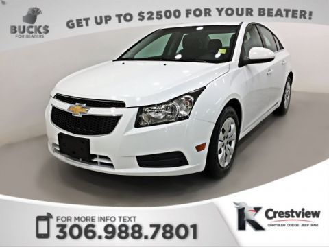 Used Chevrolet Cruze LT Turbo w/1SA | Power Sunroof