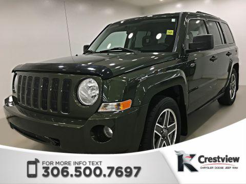Certified Pre-Owned 2009 Jeep Patriot North 4x4 | Heated Seats