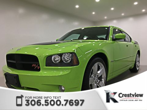 Certified Used Dodge Charger R/T Daytona Sublime Green | Leather | Sunroof