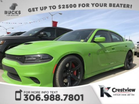 New Dodge Charger SRT Hellcat 6.2L | Sunroof | Navigation