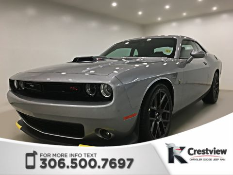 New 2018 Dodge Challenger R/T 392 Scat Pack Shaker 6.4L Hemi | Leather | Sunroof | Navigation