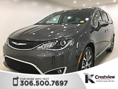 New 2018 Chrysler Pacifica Limited | Heated and Ventilated Seats | Navigation | DVD