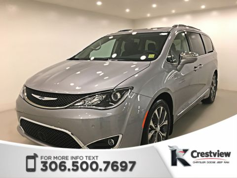 New Chrysler Pacifica Limited | Sunroof | Navigation | DVD | 360 Camera